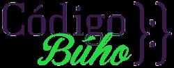 Codigo Buho Logo blanco