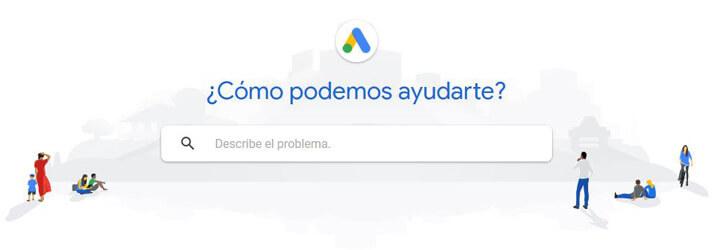 Centro asistencia google ads