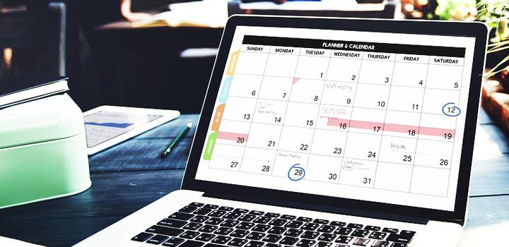 cómo crear un calendario editorial